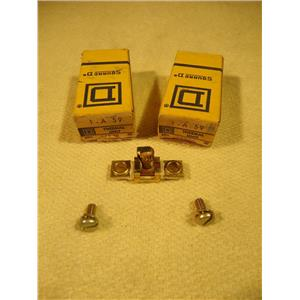 Square D 1-A.59 Overload Relay Thermal Unit, Lot of 2