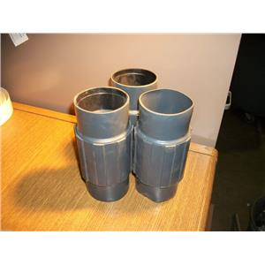 """RobRoy Perma-Cote PMCPL-250  PVC Coated Steel Coupling 2 1/2"""""""