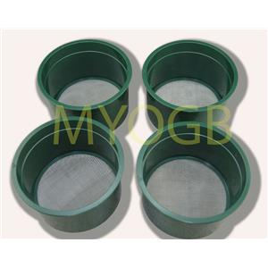 Stackable Plastic Sieve / Screen Kit 4 screens Classifying 20-30-50-60 Mesh-Gold