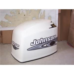 Boaters' Resale Shop of TX 1312 0105.14 JOHNSON 200 HP OUTBOARD MOTOR COWL 1991