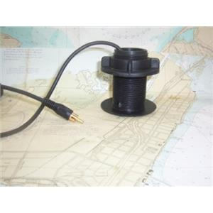Boaters' Resale Shop of Tx 1303 2123.09 NAVICO DEPTH TRANSDUCER WITH PLUG & NUT