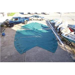 Boaters' Resale Shop of Tx 1311 1427.01 BOAT COVER & WEIGHTS FOR VALIANT 40