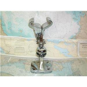 Boaters' Resale Shop of Tx 1401 0422.25 CHROME PLATED BRONZE ADJUSTABLE MOUNT