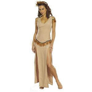 Indian Maiden Sexy Adult Costume Size Medium 10-12