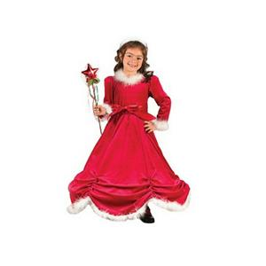 Christmas Princess Child Costume Dress Size Small 4-6