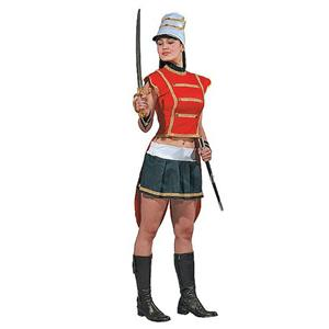 Dress Up America Adult Sexy Toy Soldier Ladies Christmas Costume Size Small