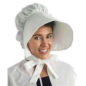 Large White Floppy Brimmed Bonnet Adult Hat
