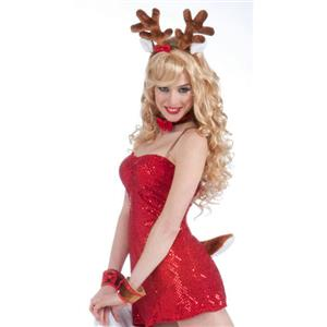 Sexy Reindeer Kit Costume Accessory Set