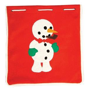 Snowman Classic Accessory Decorating Kit Gloves Pipe Nose Bowtie EVA Pieces
