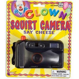 Clown Squirt Camera Joke Prank Water Gun Gag HILARIOUS