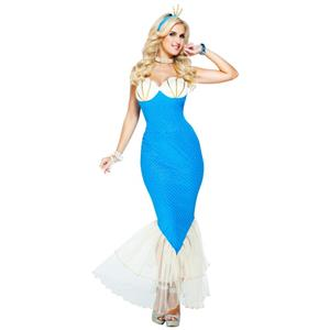 Women's Magical Mermaid Adult Costume Size Small