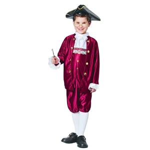 Boy's Benjamin Ben Franklin Child Costume Size Small 4-6