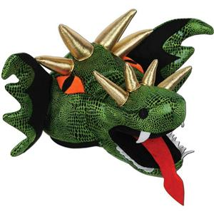 Plush Dragon Costume Hat