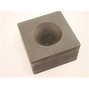 High Density Graphite Mini Conical Mold- Assy Gold Silver Black Sand Cone