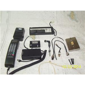 Boaters' Resale Shop Of Tx 1411 2421.77 VINTAGE MOTOROLA BAG PHONE COMPONENTS