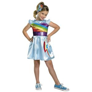 My Little Pony Rainbow Dash Toddler Girls Classic Child Costume XS 3-4T