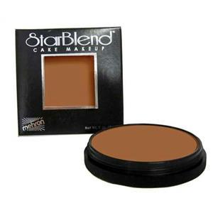 Mehron StarBlend Cake Foundation Professional Makeup Bronzed Tan 2oz