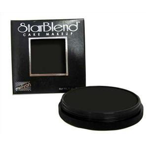 Mehron StarBlend Cake Foundation Professional Makeup Black 2oz