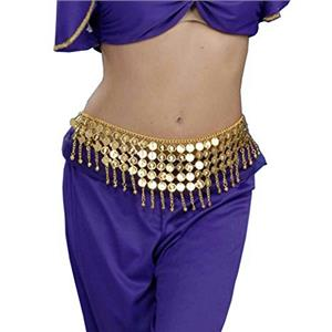 Desert Princess Coin Belt Costume Accessory