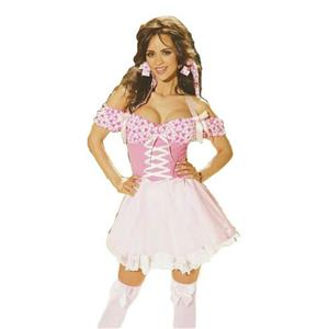 Candy Hearts Sexy Valentine's Day Adult Womens Costume Size Medium