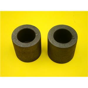 "Lot of 2 Graphite 6 oz Crucibles for Mini Propane Furnace-1-1/2"" W x 1-1/2"" Tall"
