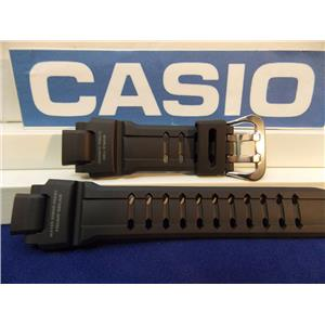 Casio Watch Band G-1400 Blk Resin Strap G-shock Tough Solar Water 20 Bar Resist