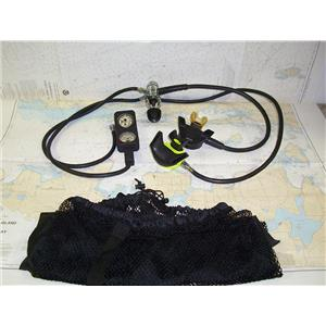 Boaters' Resale Shop Of Tx 1412 1520.50 U.S. DIVERS OCTUPUS WITH GUAGE & BAG