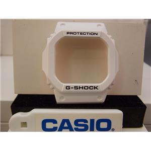 Casio Watch Parts GLS-5600.White Shiny Bezel/Shell.Also Fit: GLX-5600, G-5600