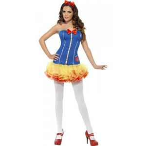 Women's Fever Snow White Fairy Tale Princess Adult Costume Size Extra Small XS
