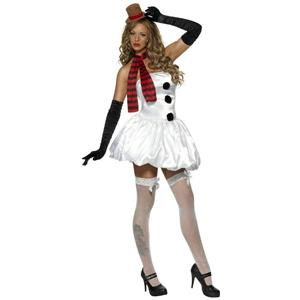 Fever Sexy Snowman Adult Costume Size Extra Small XS