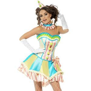 Fever Vintage Clown Adult Costume Size Large