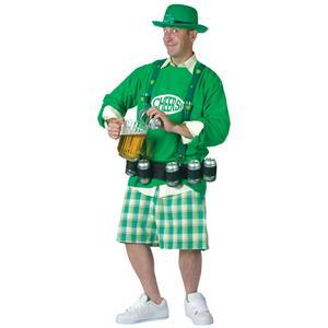 Cheers N' Beers St. Patrick's Day Adult Mens Costume