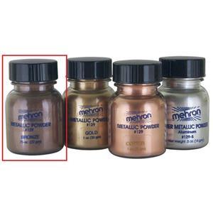 Mehron Metallic Powder Bronze .75 oz