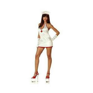 CPR Nurse Sexy Adult Costume Size Large 10-12