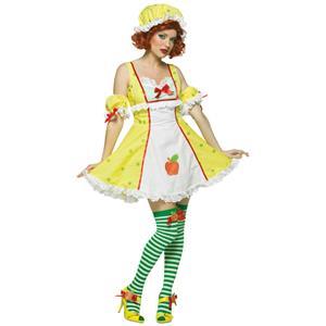Strawberry Shortcake: Apple Dumpling Sexy Adult Costume Standard Size