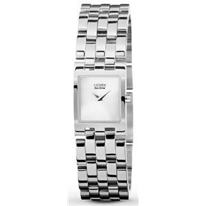 Citizen EX1300-51A.Dress. Jolie Collection.Eco-Drive.Silver-Tone Dial. Stainless Bracelet.30M Resist