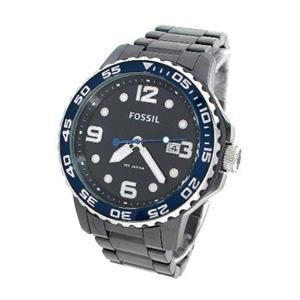 Fossil Men's CE5010. Black Dial. Black ion Bracelet. Quartz Watch.