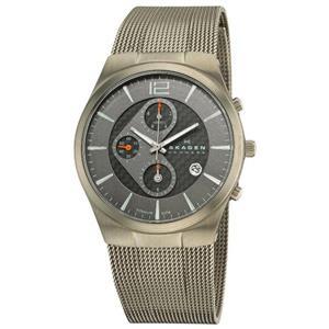 Skagen Men's 906XLTBB Titanium Chronograph Watch