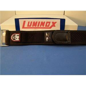 Luminox WatchBand Red Logo NylonGrip 27mm Overall Width.Fits Most Mns 22mm Watch