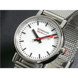 Mondaine A658-30301.11SBV. Women's Official Swiss Railways Evo. Magnified Crystal. White Round Dial.
