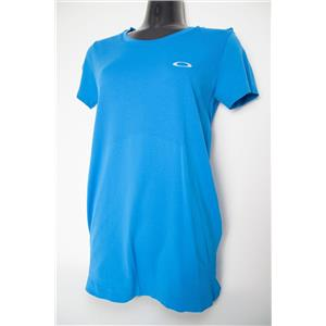 Oakley Escapade Short Sleeve Top Women's Blue Small
