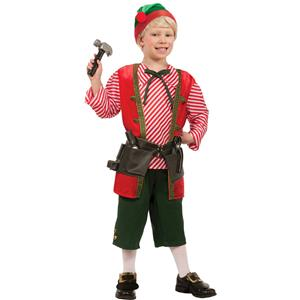 Toy Maker Elf Child Costume Size Small 4-6