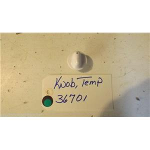 AMANA  DRYER 36701 Knob, Temp USED PART