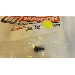ADMIRAL MAGIC CHEF DISHWASHER 3005-0007 16x1/2 SCREW  NEW IN BAG