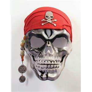 Pirate Captain Skull Face Mask