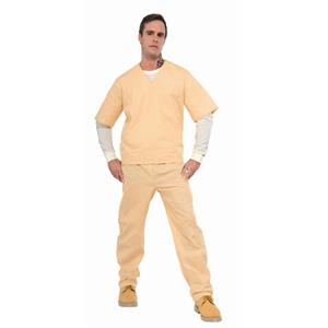 Beige Prisoner Suit Costume Adult Standard