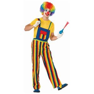 Stripes the Clown Adult Costume Standard Size