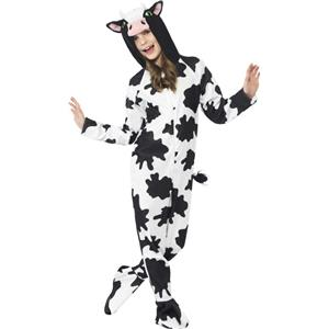 Unisex Kids Cow Costume Size Small 4-6