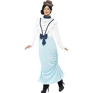 Smiffy's Women's Posh Victorian Lady Costume Size Small 6-8