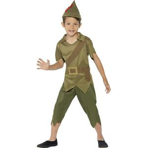 Robin Hood Boy's Costume Size Small 4-6